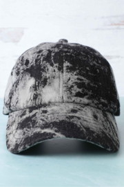 Fashion City Acid Wash Baseball Hat - Product Mini Image