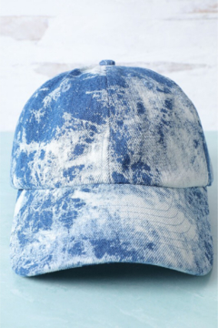 Fashion City Acid Wash Baseball Hat - Product List Image
