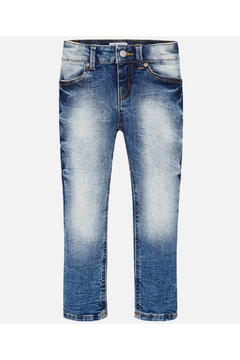 Shoptiques Product: ACID WASH SKINNY JEAN