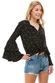 ACOA Bell Sleeve Blouse - Back cropped