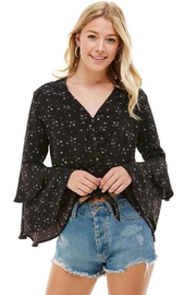 ACOA Bell Sleeve Blouse - Product Mini Image