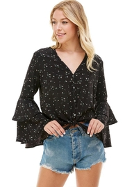 ACOA Bell Sleeve Blouse - Front full body