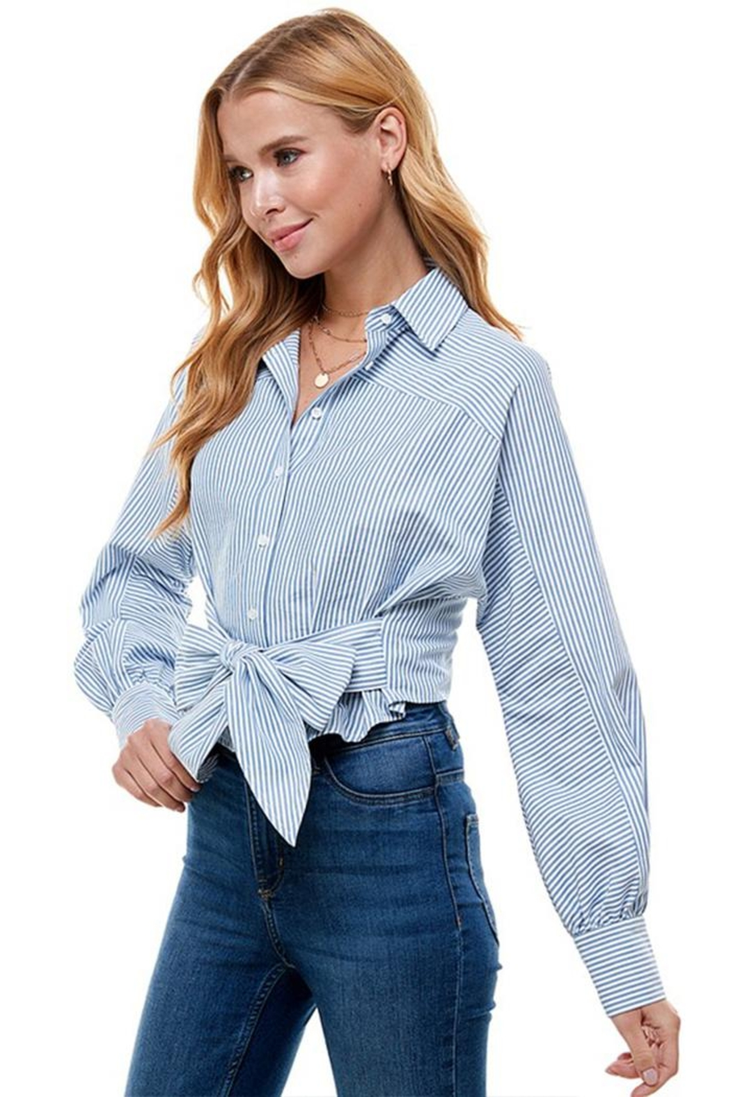 ACOA Button Down Shirt - Front Full Image