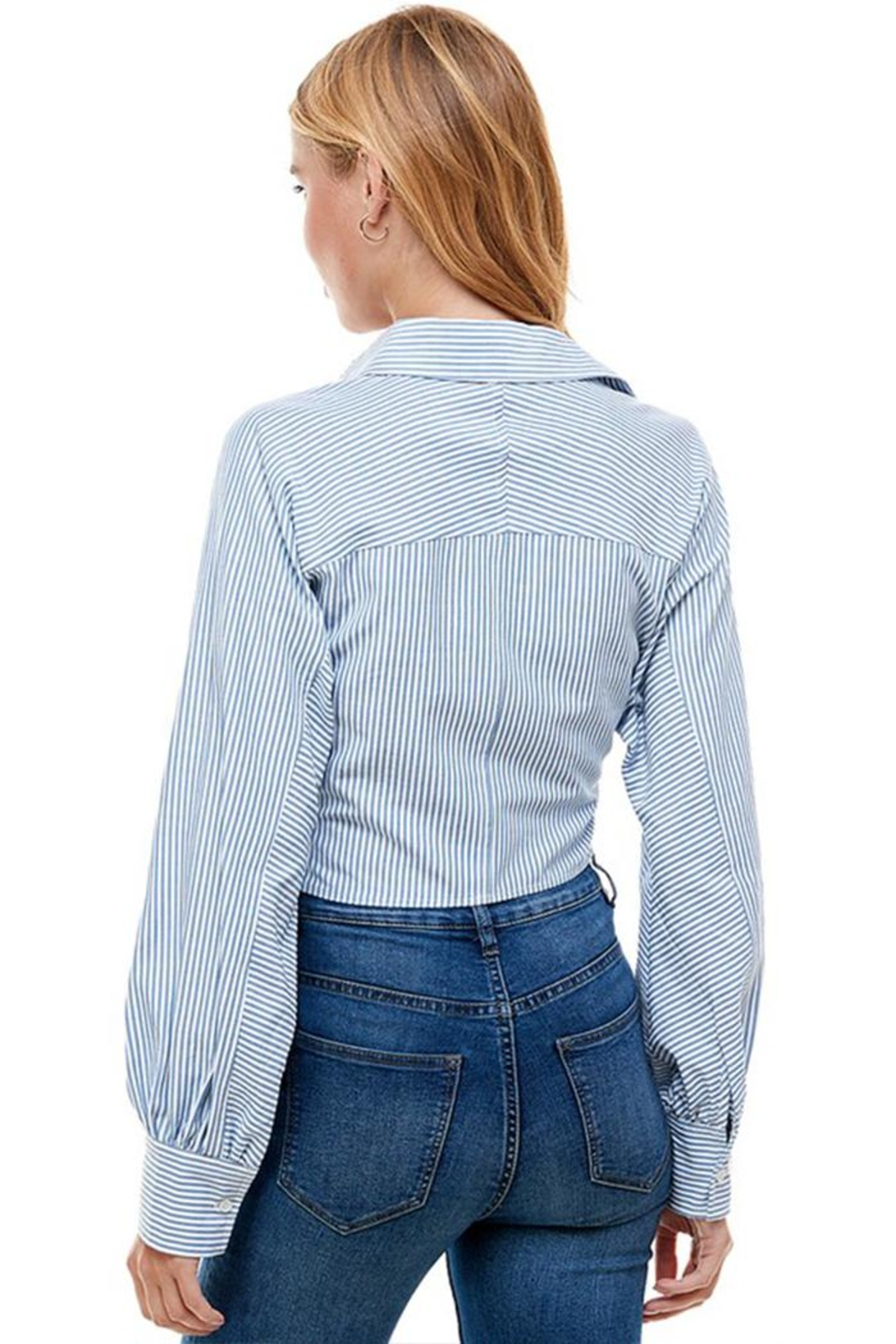 ACOA Button Down Shirt - Back Cropped Image