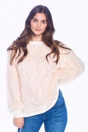 ACOA Feather Detail Sweater - Product Mini Image