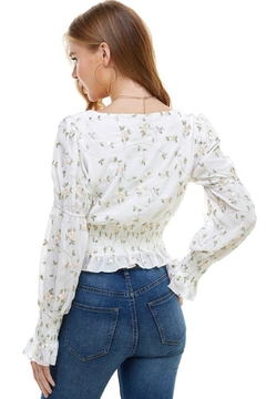 ACOA Floral Embroidered Top - Alternate List Image