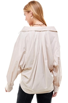ACOA Oversized Pleat Shirt - Alternate List Image