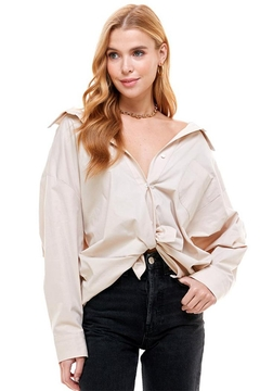 ACOA Oversized Pleat Shirt - Product List Image