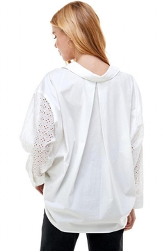 ACOA Oversized Pleated-Back Top - Alternate List Image