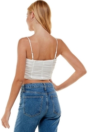 ACOA Ruched Detail Mesh Cami - Other