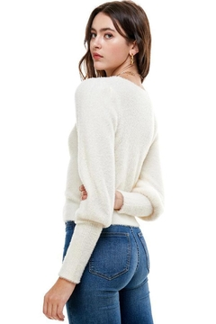 ACOA Ruched Front Sweater - Alternate List Image
