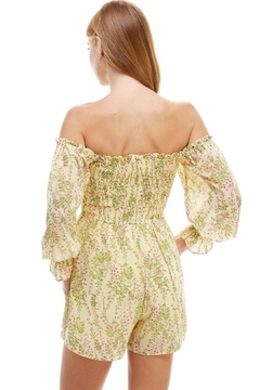 ACOA Smocked Bodice Romper - Alternate List Image