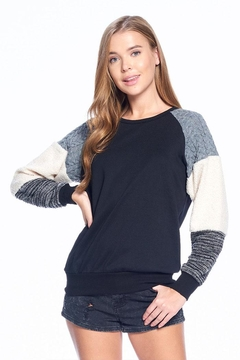 ACOA Soft Colorblock Sweater - Product List Image