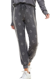 ACOA Star Print Joggers - Product Mini Image