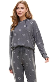 ACOA Star Print Pullover - Product Mini Image