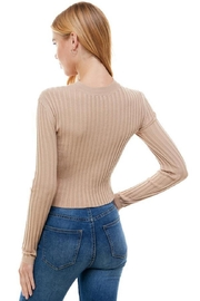 ACOA Two Way Sweater - Back cropped