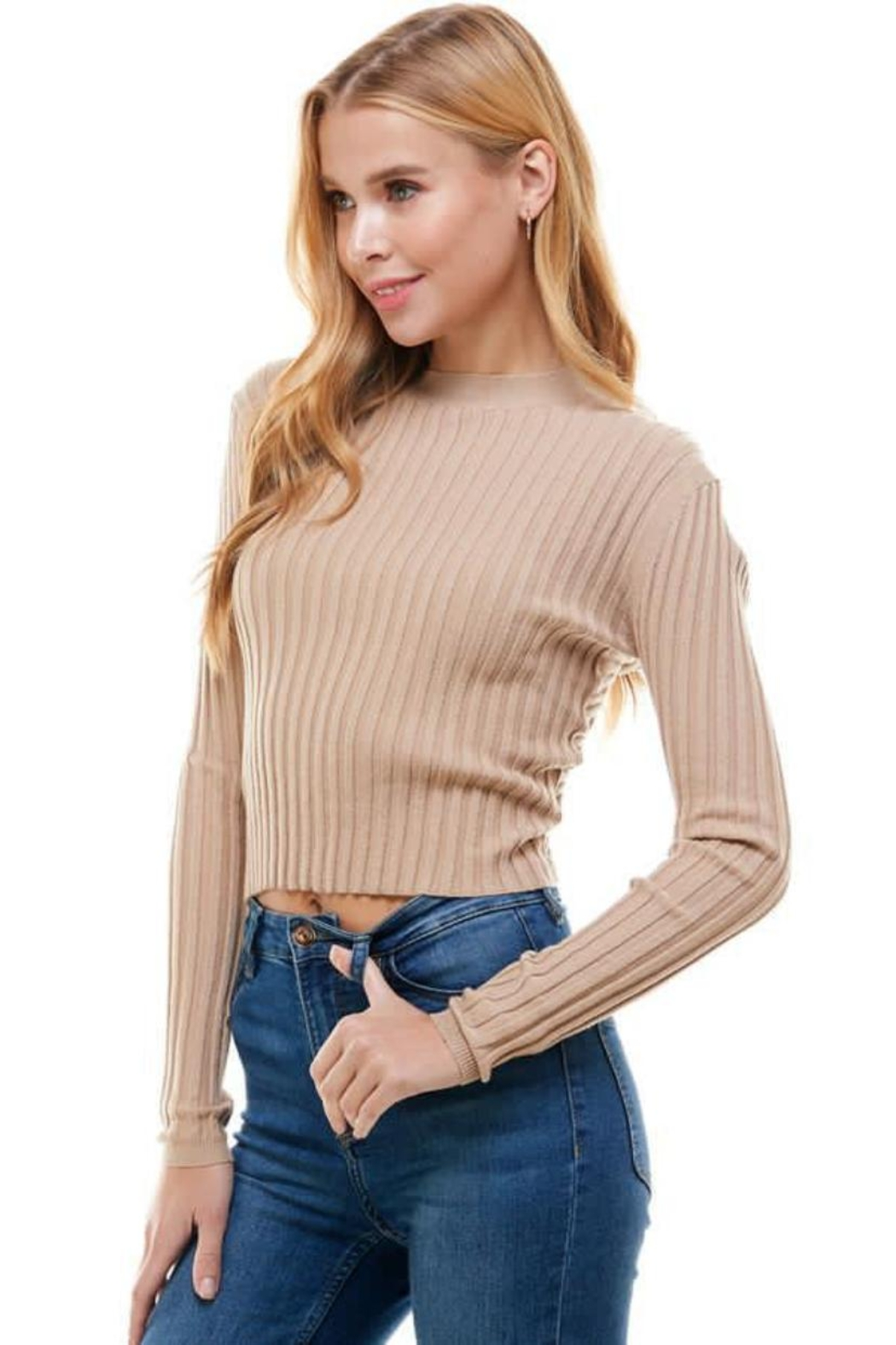 ACOA Two Way Sweater - Front Full Image