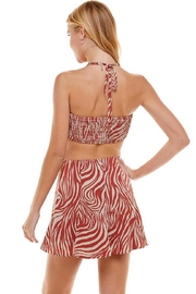 ACOA Zebra Skirt Set - Front full body