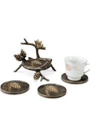 SPI-Home Acorn Coaster Set - Product Mini Image