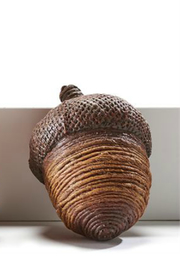 Gift Craft Acorn decor - Front cropped
