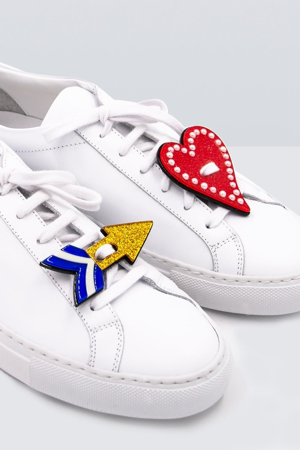 Iphoria Acryl Sneaker Patches - Front Full Image