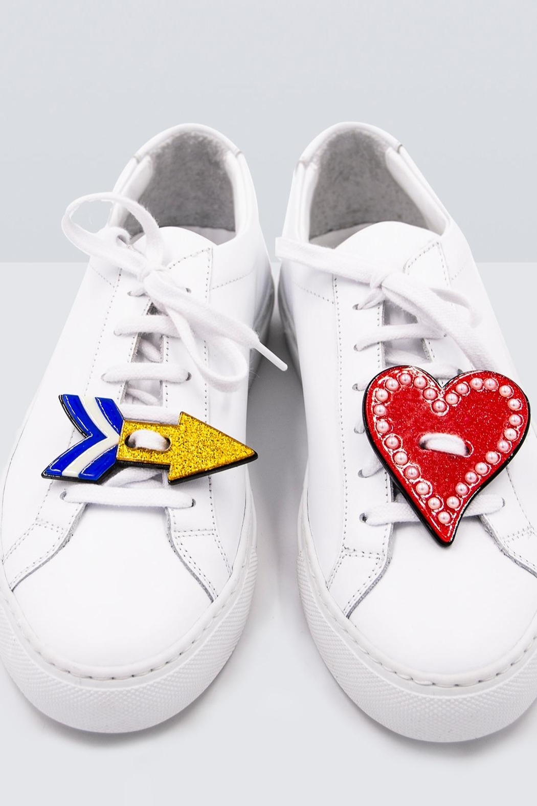 Iphoria Acryl Sneaker Patches - Front Cropped Image