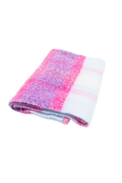 Rice DK Acrylic Check Scarf - Product List Image