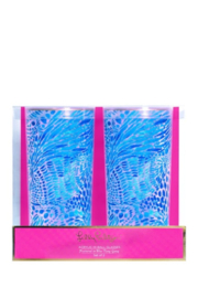 Lilly Pulitzer  Acrylic Hi-Ball Glass Set (2) - Front cropped