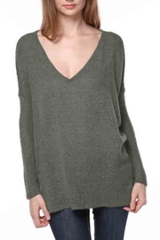 Piko 1988 Acrylic V-Neck Sweater - Product Mini Image
