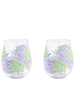 Lilly Pulitzer  Acrylic Wine Glass Set - Product List Image