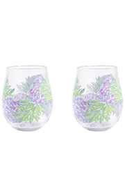 Lilly Pulitzer  Acrylic Wine Glass Set - Product Mini Image