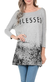 Acting Pro Blessed Tunic Top - Product Mini Image