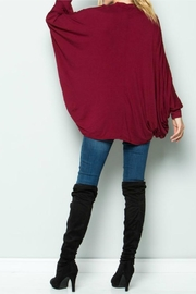 Acting Pro Poncho Dress - Side cropped