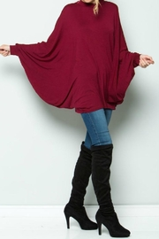 Acting Pro Poncho Dress - Front cropped
