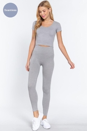 Active Rib Legging - Front cropped