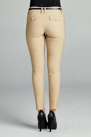 Active Belted Skinny Pant - Side cropped