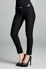 Active Belted Skinny Pant - Front full body