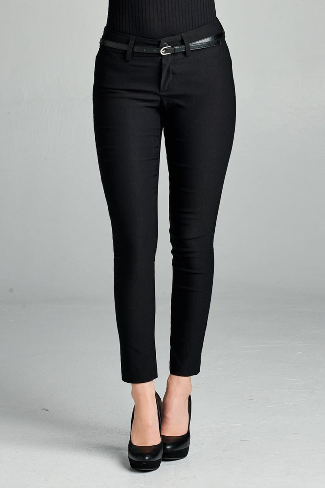 Active Belted Skinny Pant - Main Image