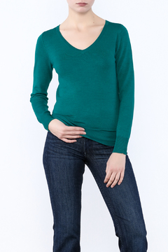Shoptiques Product: Classic V-Neck Sweater