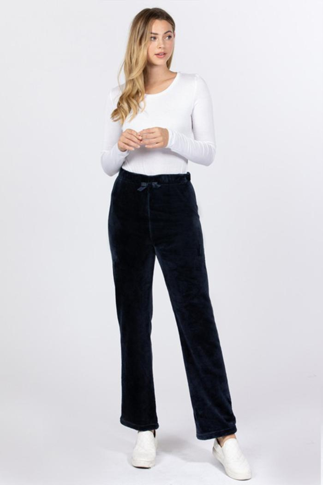 Active Fleece Lounge Pants - Front Cropped Image