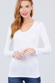 Active Long-Sleeve Basic Tee - Front cropped