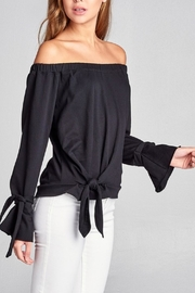 Active Off Shoulder Sweater - Product Mini Image