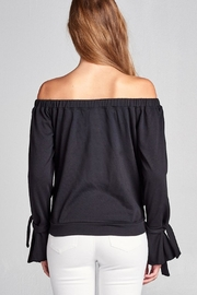 Active Off Shoulder Sweater - Other