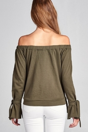 Active Off Shoulder Sweater - Side cropped