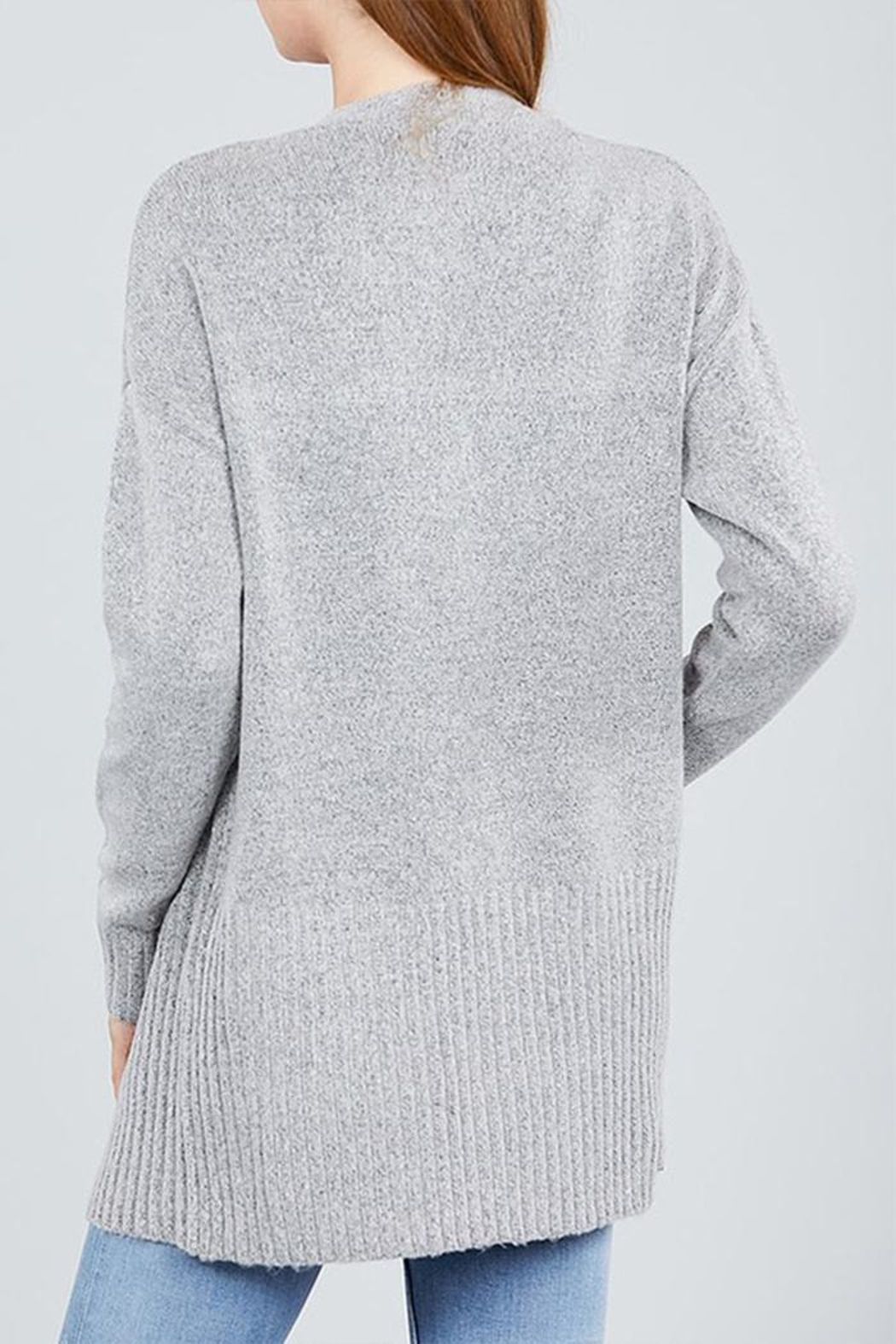 Active Open Sweater Cardigan - Side Cropped Image