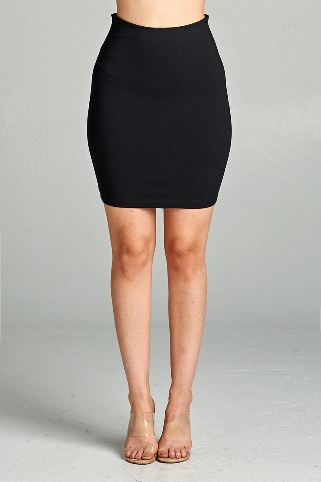 Active Ponte Mini Skirt - Front Cropped Image