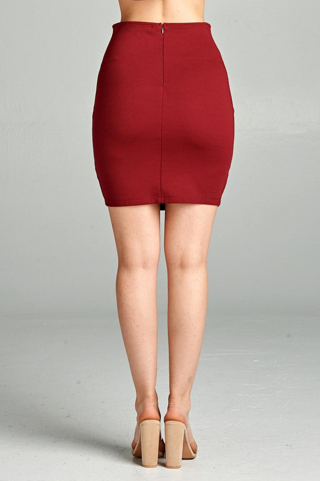 Active Ponte Mini Skirt - Side Cropped Image