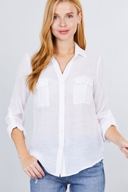 Active Roll-Up Sleeve Shirt - Product Mini Image