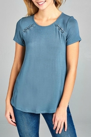 Active Basic Bailey Stitch Tee - Product Mini Image