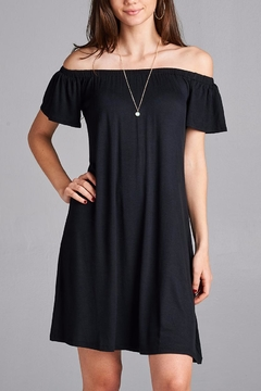 Active Basic Black Casual Dress - Product List Image